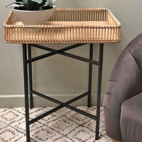 Rectangular Bamboo Side Table | The Farthing 4
