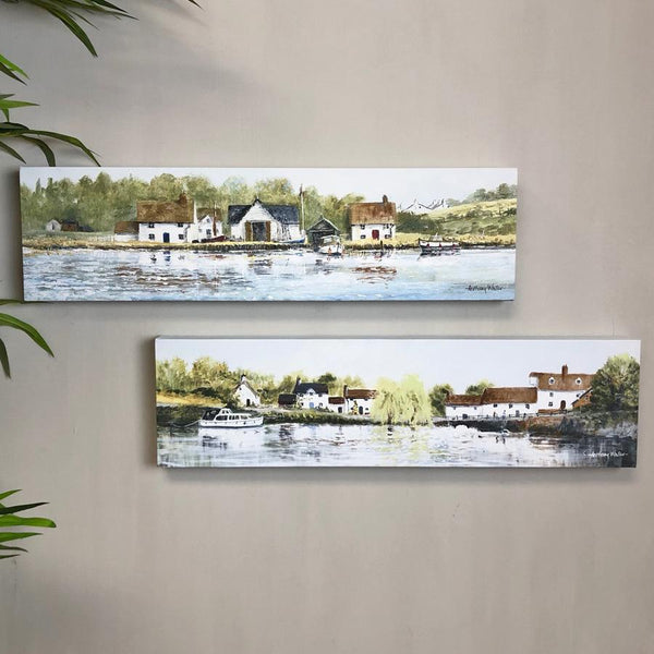 River View Framed Canvas Prints at the Farthing 2