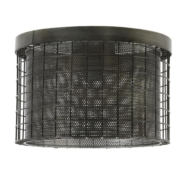 Round Cage Ceiling Light | The Farthing