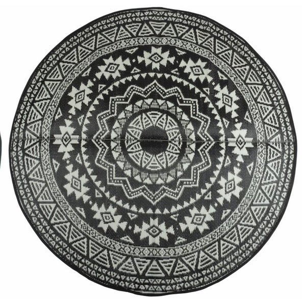 Round Marrakesh Outdoor Rug at the Farthing