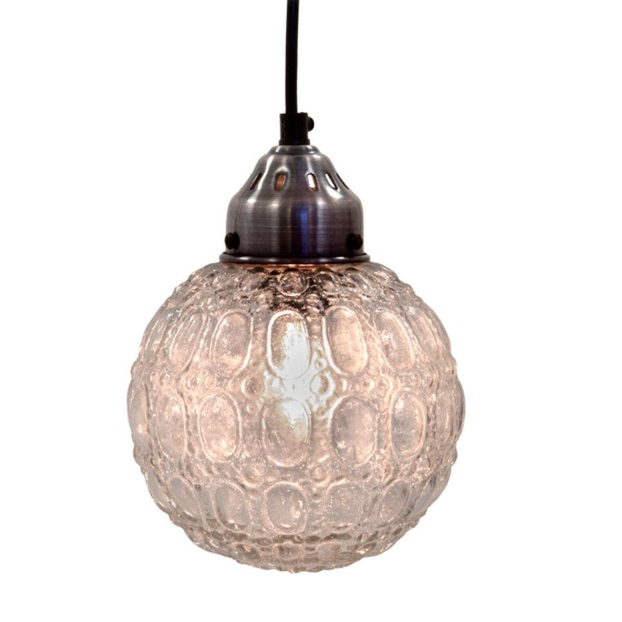 Round Bauble Glass Pendant Light | Farthing