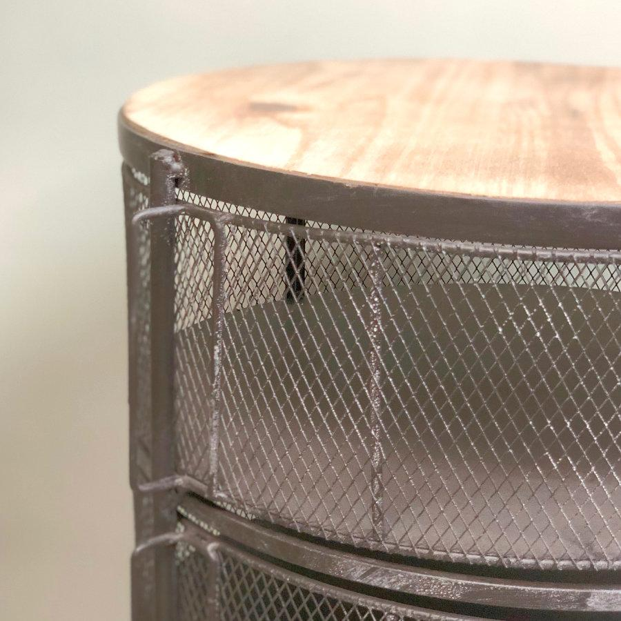 Round Cage Cabinet Unit | The Farthing