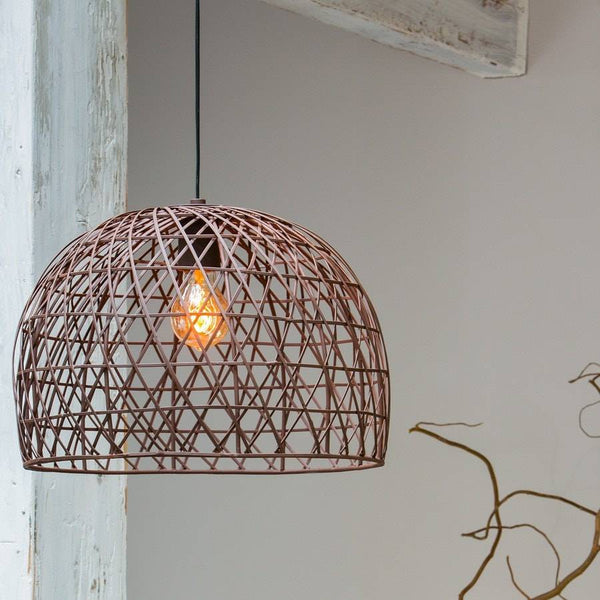 Rustic Barrington Wire Pendant Light - The Farthing