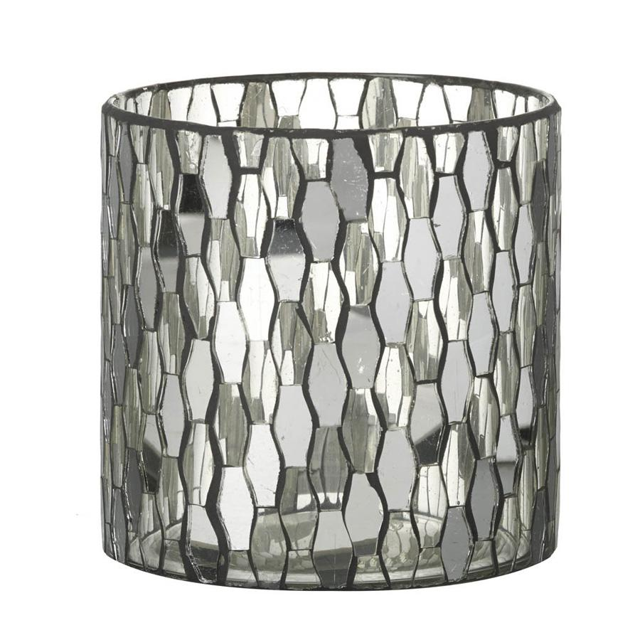 Hampton Glass Candle Holder | Farthing Home