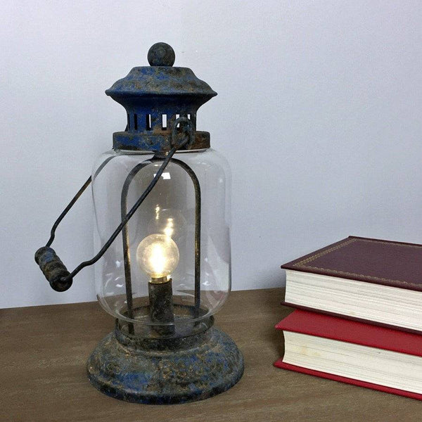 Rustic Miners LED Lantern - The Farthing
