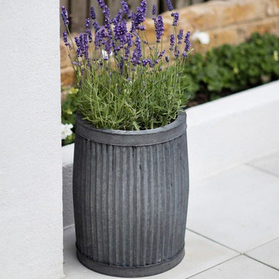 Rustic Deep Vence Fluted Planter - The Farthing