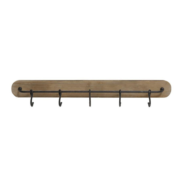 Rustic Style Metal Hooks Rail at the Farthing