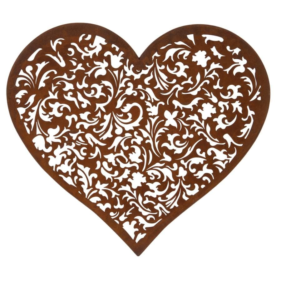 Rustic Metal Heart Wall Art 1