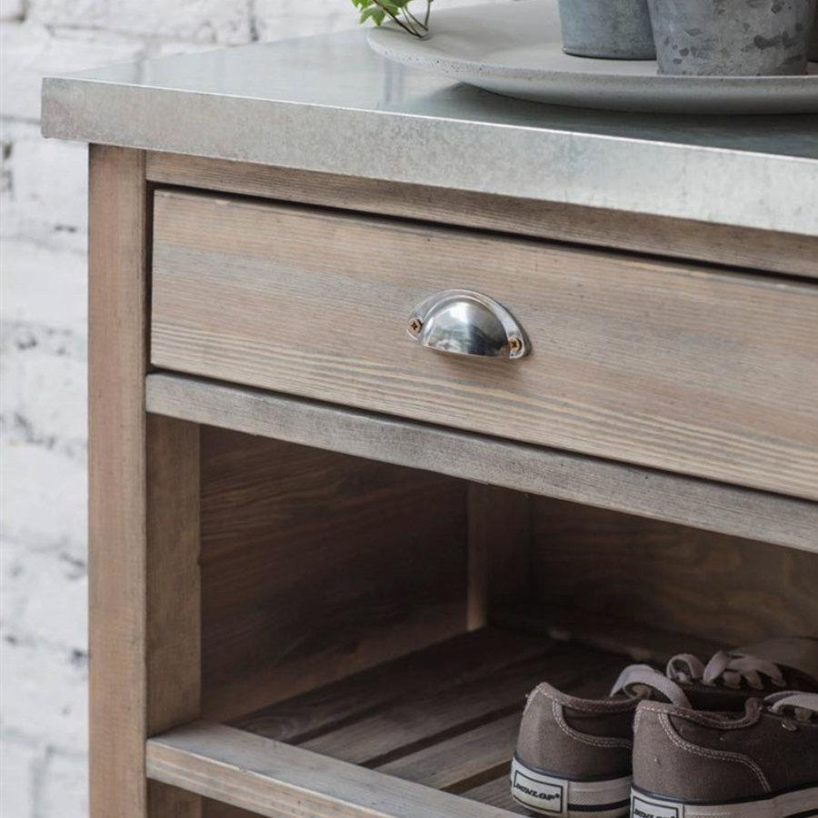 Rustic Aldsworth Bootroom Unit - Spruce | The Farthing