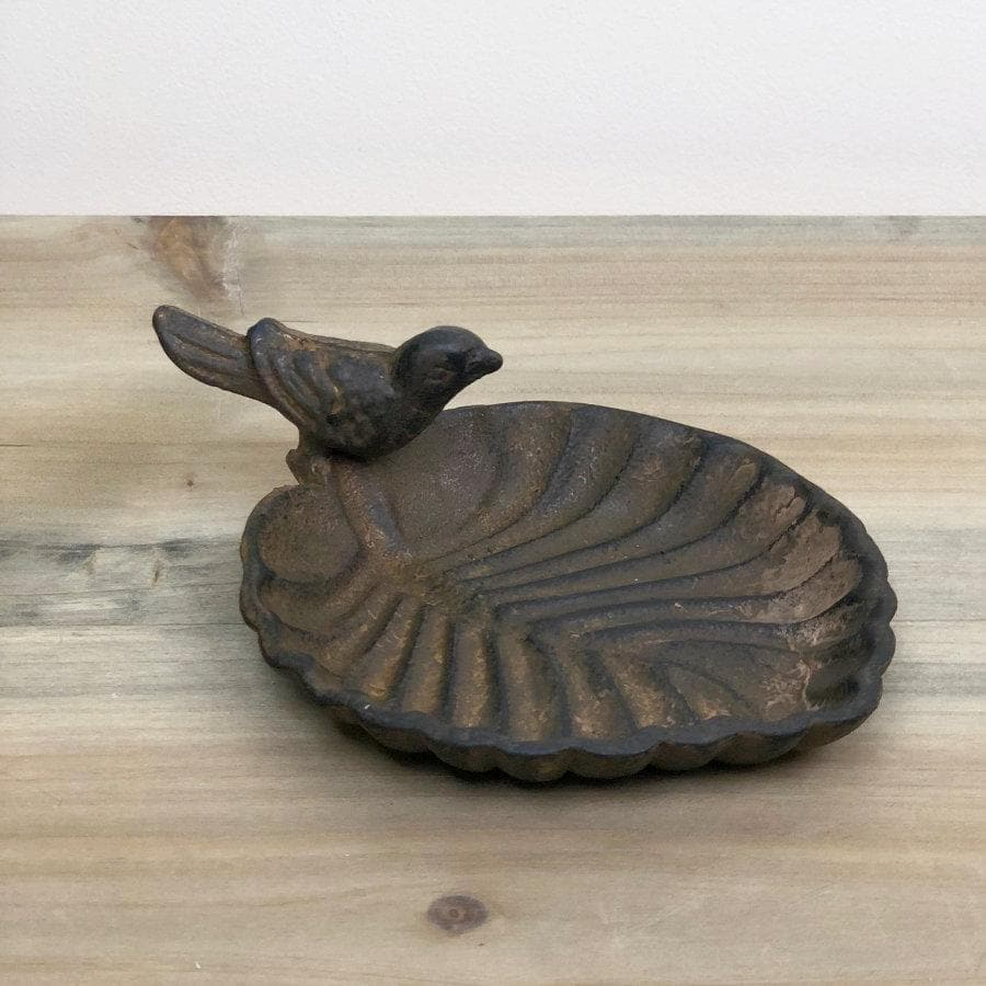 Rustic Bird Trinket Tray at the Farthing