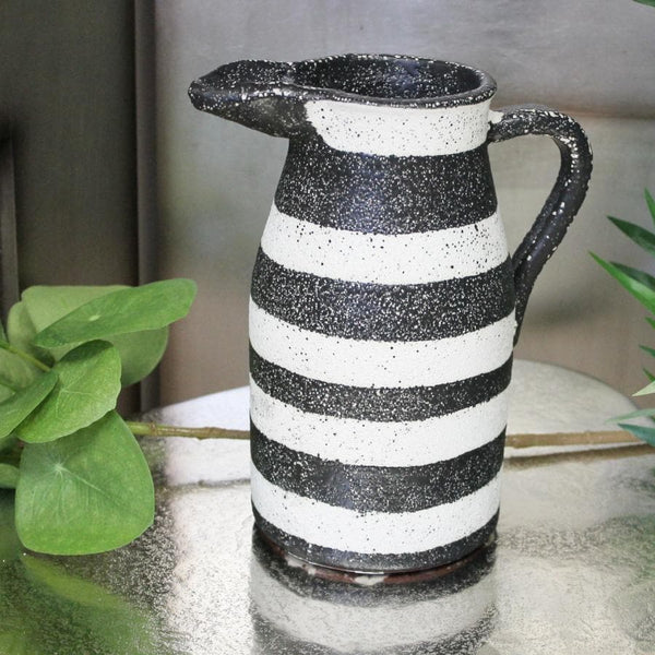 Rustic Black and White Jug at the Farthing 2