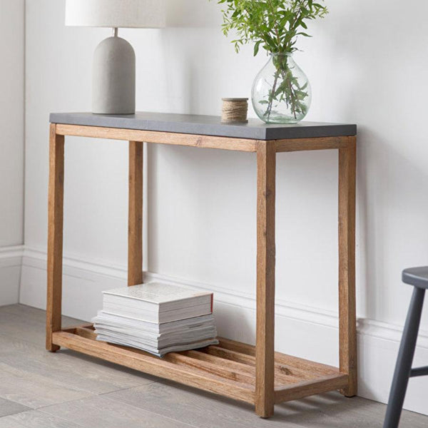 Rustic Chilsdon Console Table at the Farthing