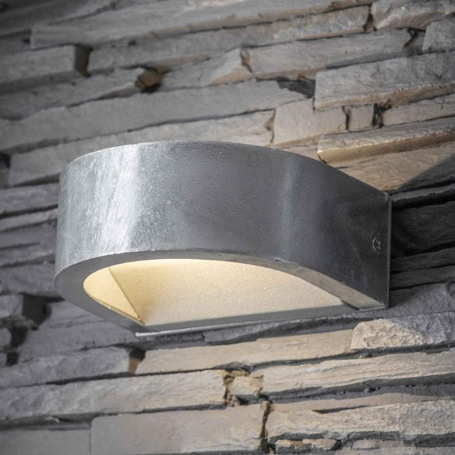 Rustic Galvanised Up and Down Loop Light