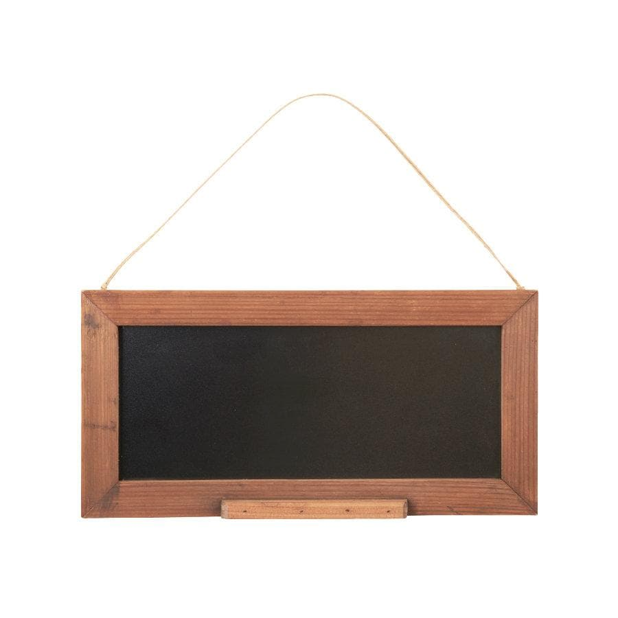 Rustic Hanging Wooden Chalk Board at the Farthing