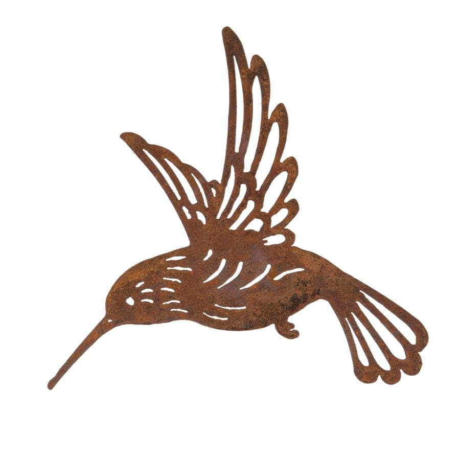 Rustic Metal Hummingbird Wall Art