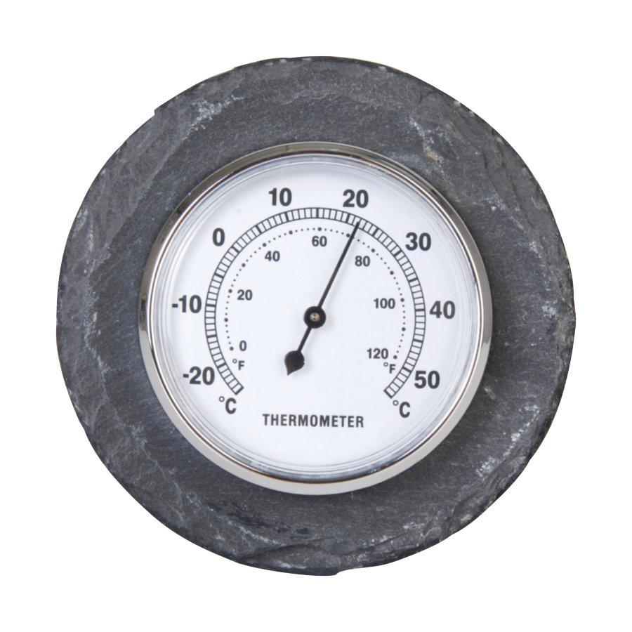 Rustic Slate Thermometer at the Farthing