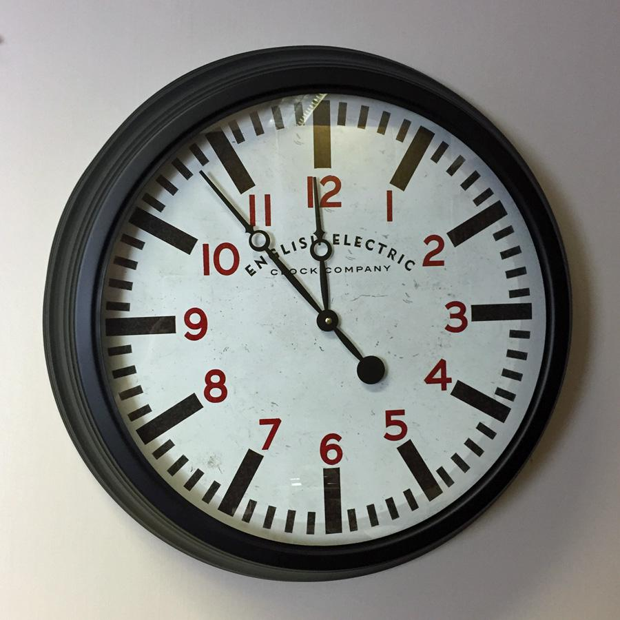 Station Master Wall Clock at the Farthing 5
