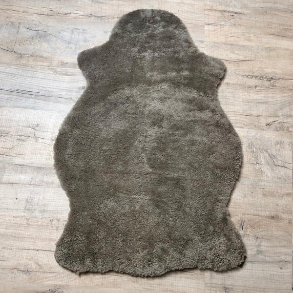 Shepherd of Sweden Grey Sheepskin Rug at the Farthing