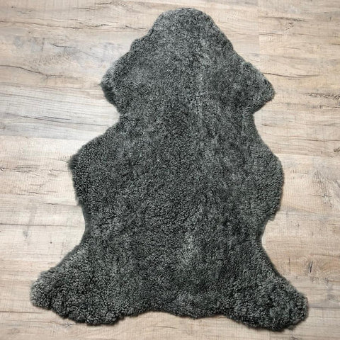 Shepherd of Sweden Two Tone Grey Sheepskin Rug | Farthing