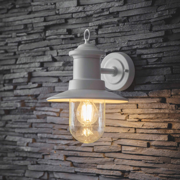 Ships Wall Light - Lily White