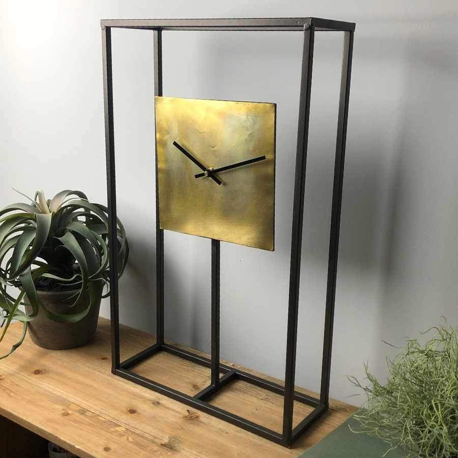 Skeleton Frame Table Clock | Farthing