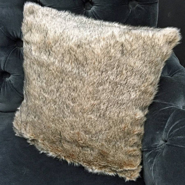 Soft Faux Fur Cushion Cover and inner cushion pad - The Farthing