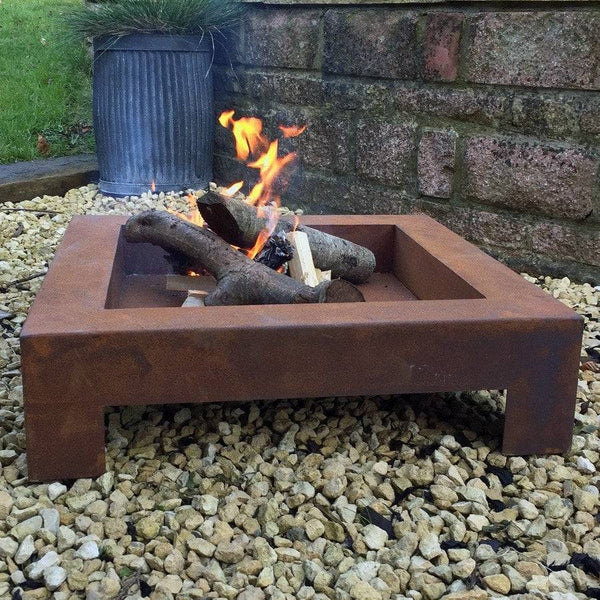 Large Rustic Fire Pit