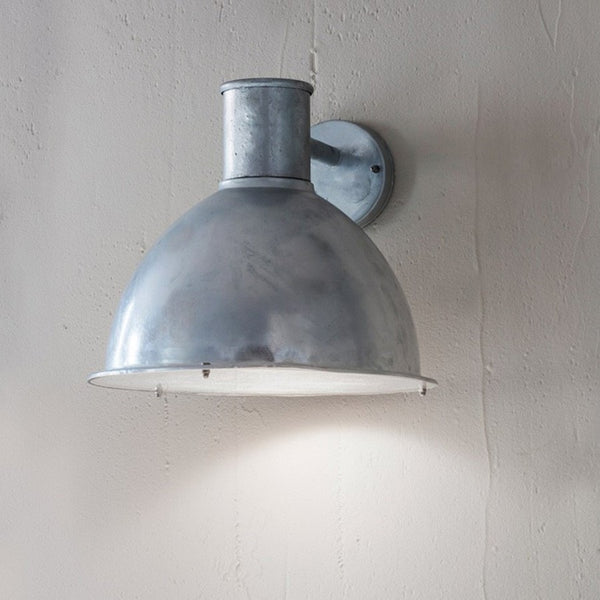 Oversized Bay Light - Hot Dipped Galvanised - The Farthing  - 1