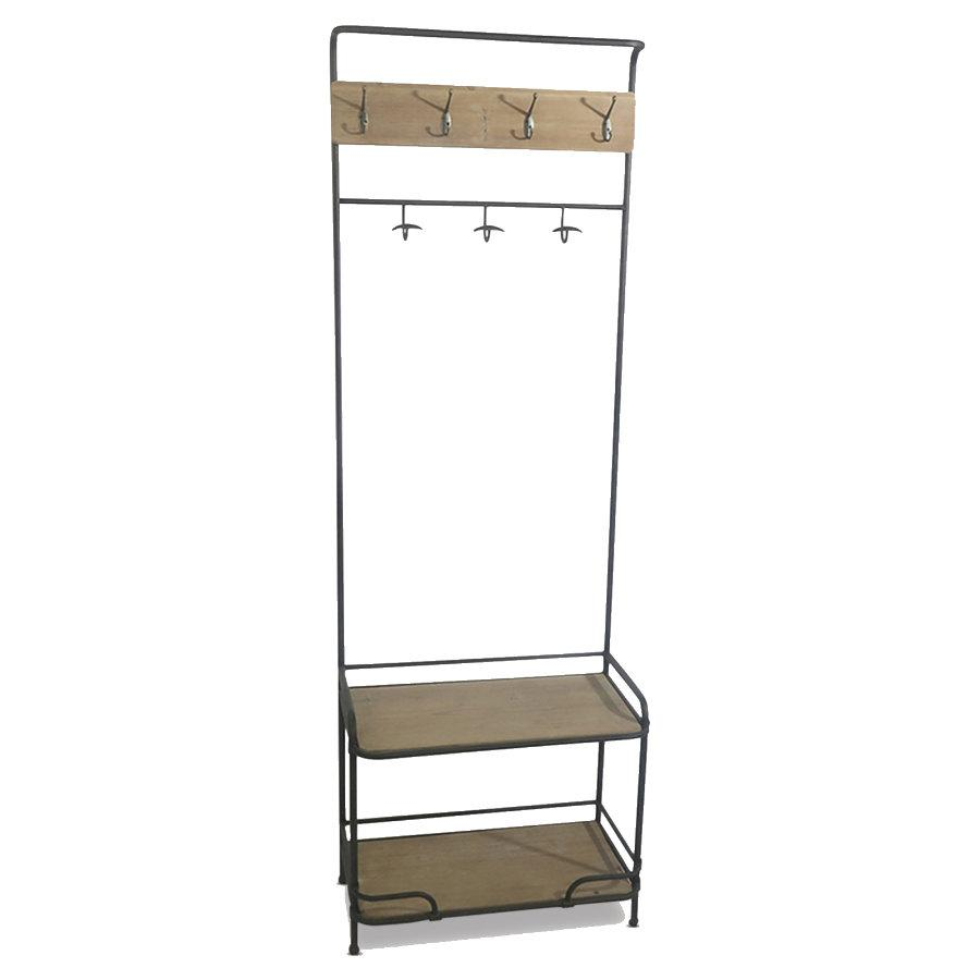 Standing Coat Rack Storage Unit at the Farthing