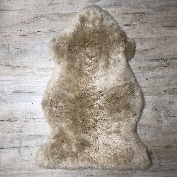 Sumptuous Oyster Sheepskin Rug - The Farthing 11