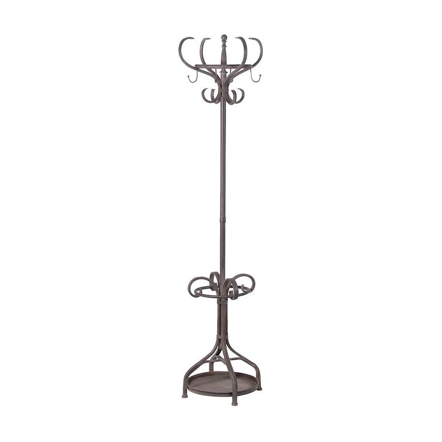Tall Iron Standing Coat Rack with Umbrella Stand | Farthing