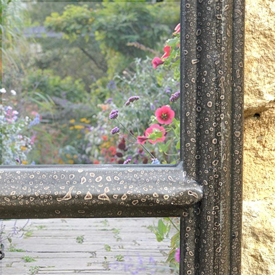 Tall Outdoor Garden Window Mirror | Farthing