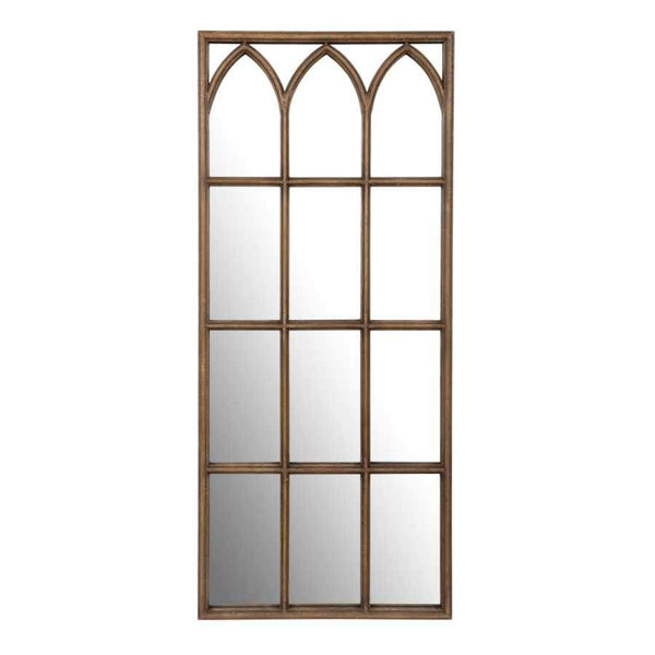 Tall Distressed Rectangular Wall Mirror | Farthing
