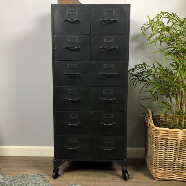 Tall Industrial Iron Cabinet at the Farthing 1