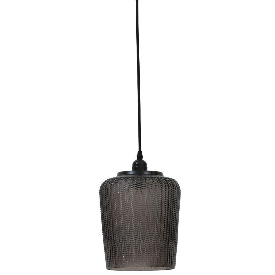 Textured Glass Dome Pendant Light | The Farthing