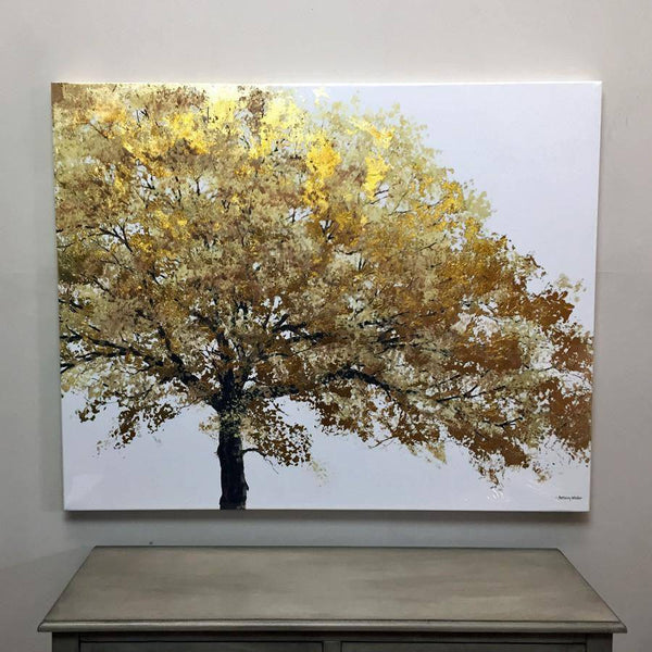 Tree of Light - Wall Canvas - The Farthing