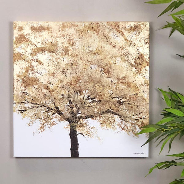 Tree of Light - Square Wall Canvas | Farthing 1