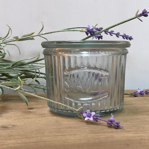 Vintage Glass Salt Pot | Farthing 1
