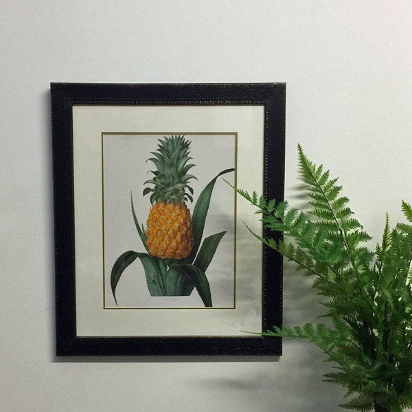 Vintage Pineapple Print at the Farthing