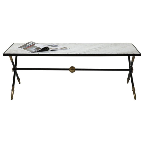 Vintage Style Cross Leg Coffee Table - The Farthing