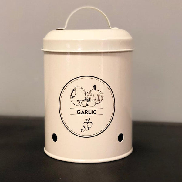 Vintage Garlic Storage Pot at the Farthing