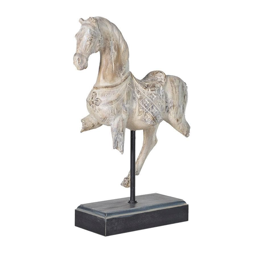 Vintage Inspired Horse on Stand at the Farthing