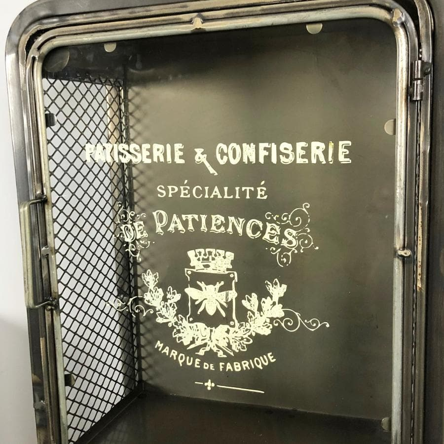 Vintage Parisian Storage Wall Unit at the Farthing