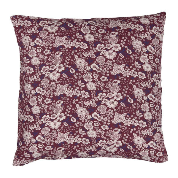 Vintage Plum Flower Cushion at the Farthing