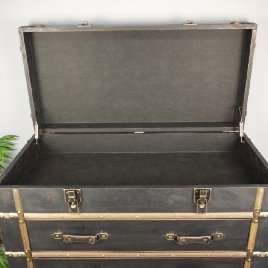 Vintage Style Travellers Chest Of Drawers | The Farthing