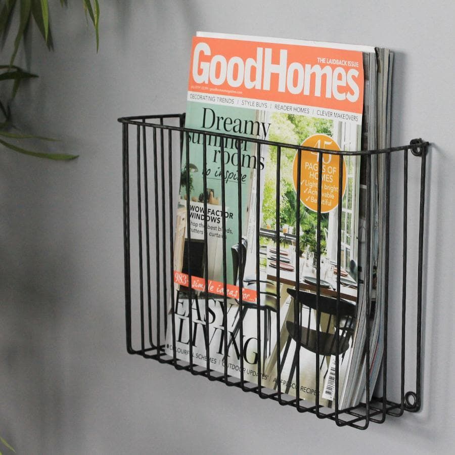 Wall Mount Wirework Letter Holder | The Farthing