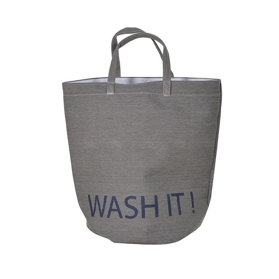 Wash It Laundry Bag - Grey at the Farthing
