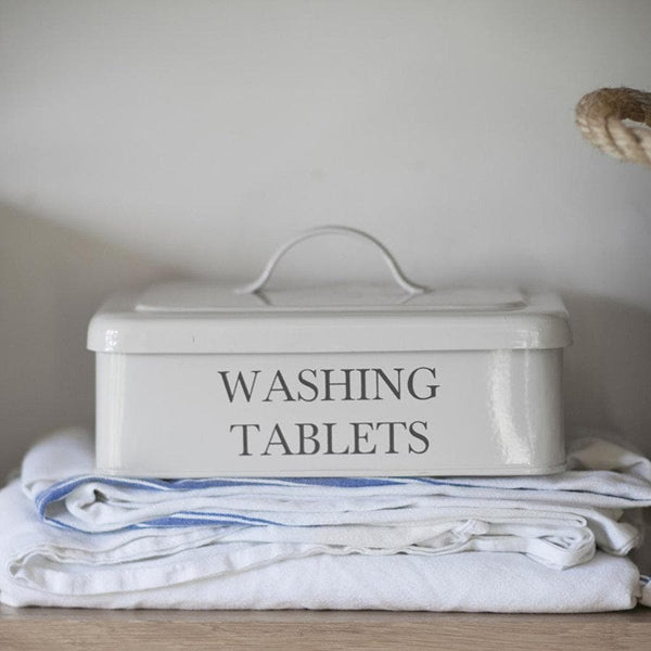 Washing Tablet Box - chalk at the Farthing