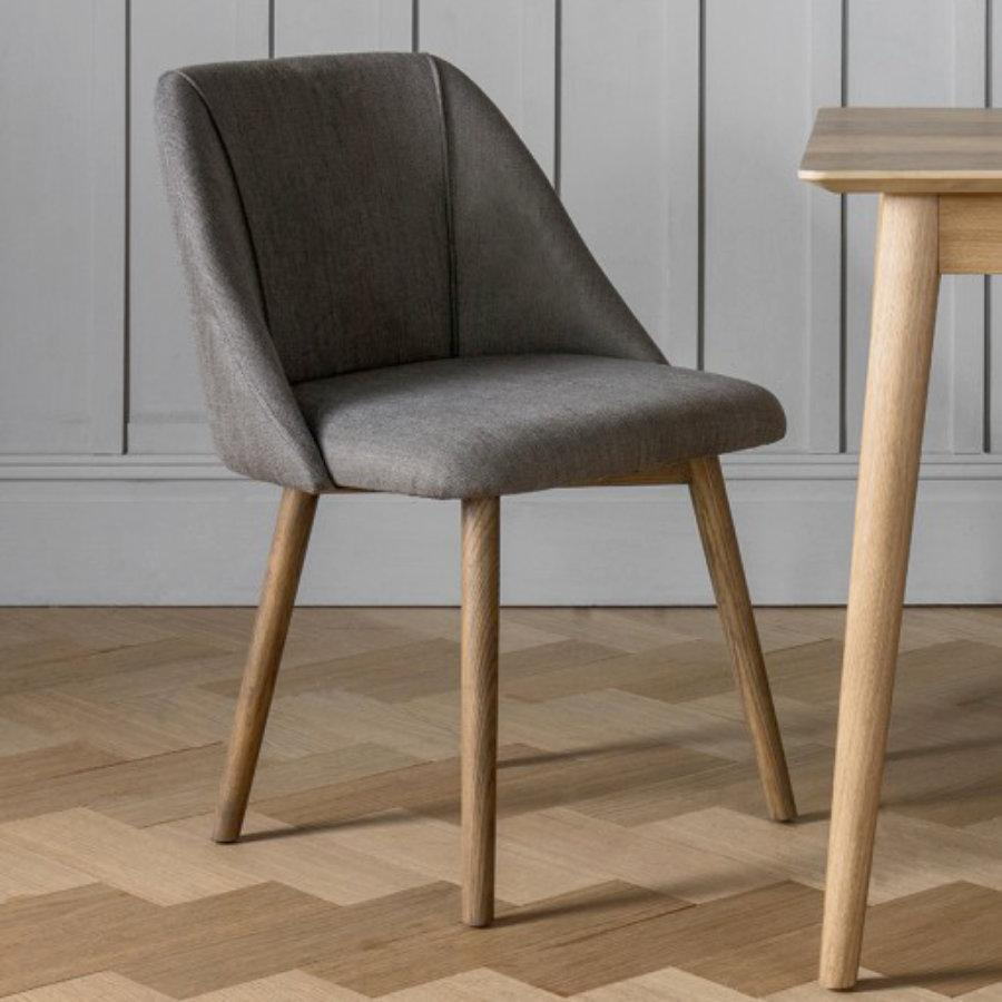 Whilstshire Dining Chair - Slate Grey | The Farthing