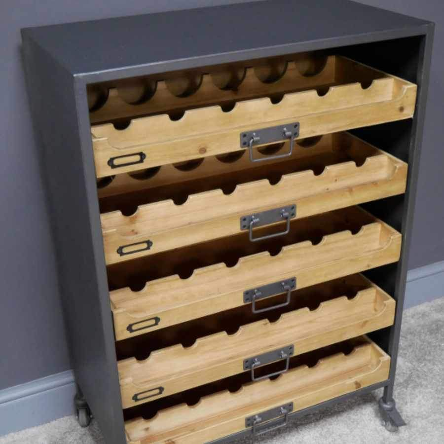 Wine / Drinks Drawer Storage Cabinet